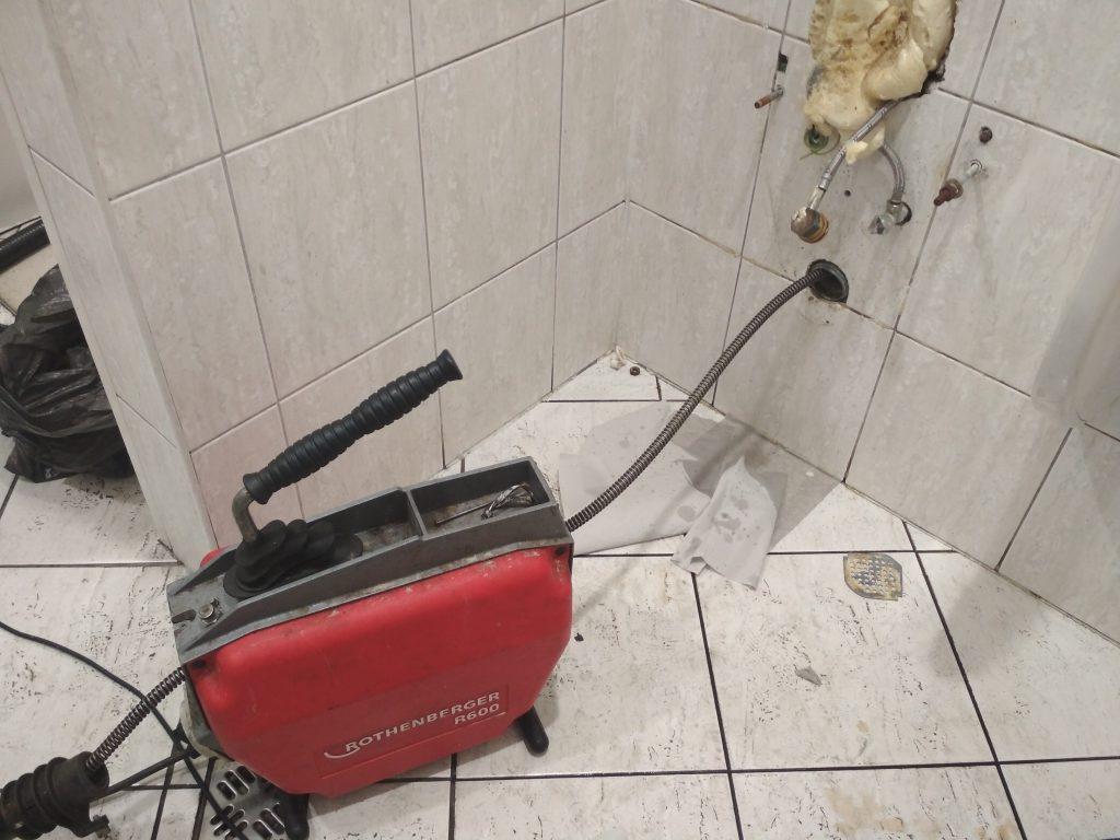 udrażnianie kanalizacji
