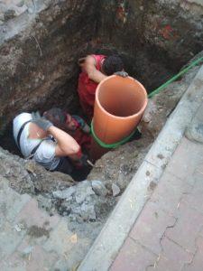 Naprawa instalacji kanalizacyjnej