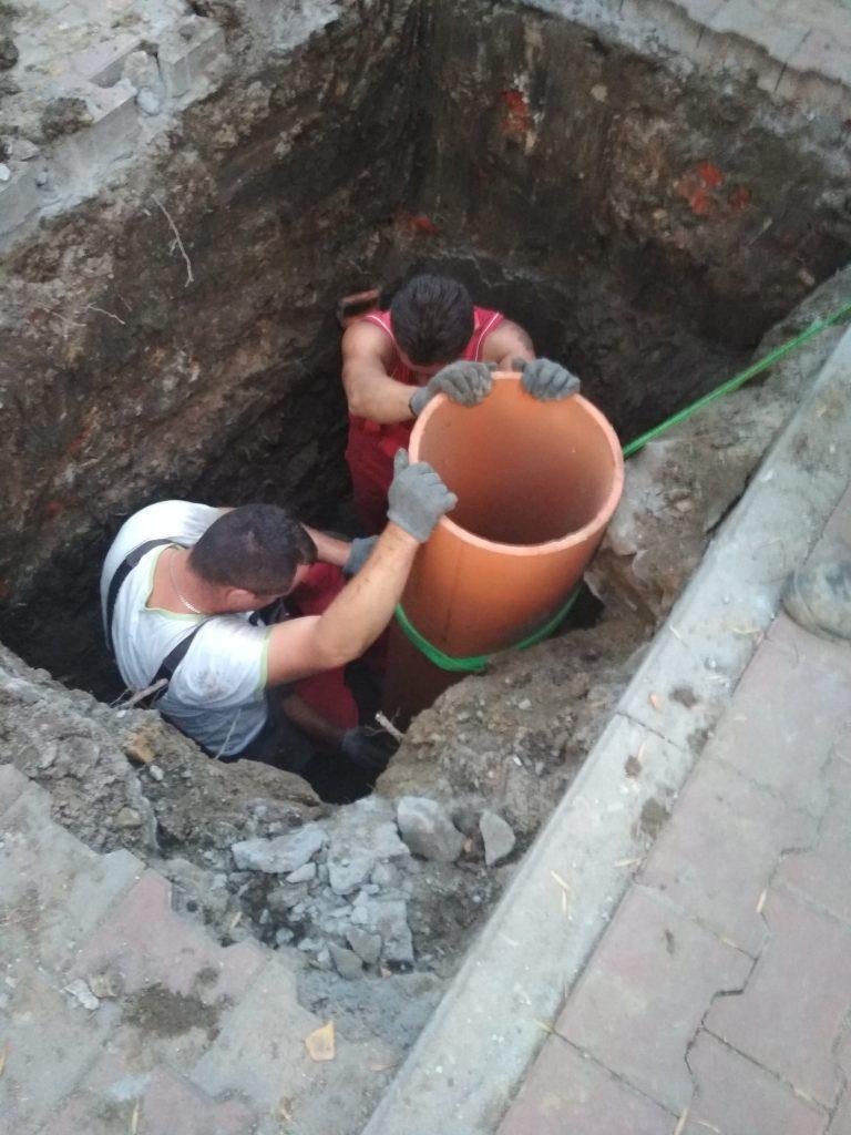 naprawy wykopowe kanalizacji